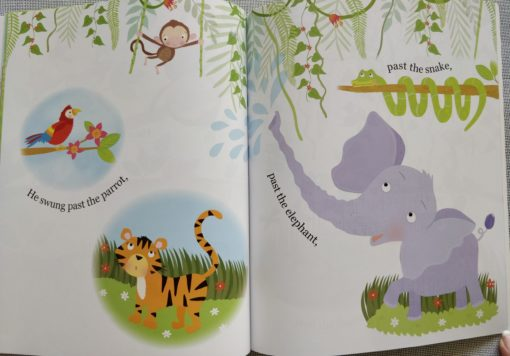 Cupcake Story Book – Stop Monkeying Around - Inside1
