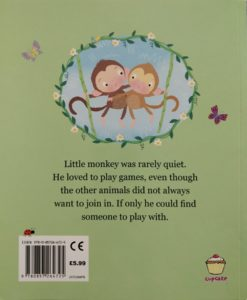 Cupcake Story Book – Stop Monkeying Around - BackCover
