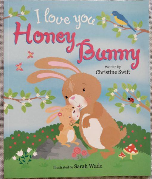 Cupcake Story Book – I Love You Honey Bunny - Cover
