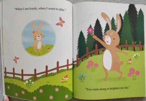 Cupcake Story Book – I Love You Honey Bunny - Inside1