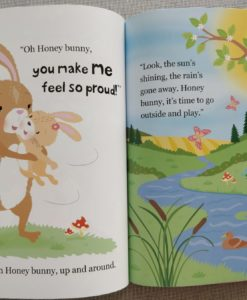 Cupcake Story Book – I Love You Honey Bunny - Inside2