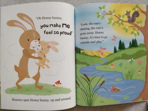 Cupcake Story Book – I Love You Honey Bunny - Inside2