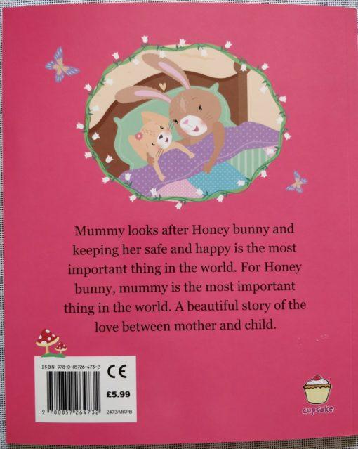 Cupcake Story Book – I Love You Honey Bunny - BackCover