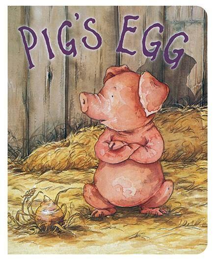 Cupcake Board Book - Pig's Egg