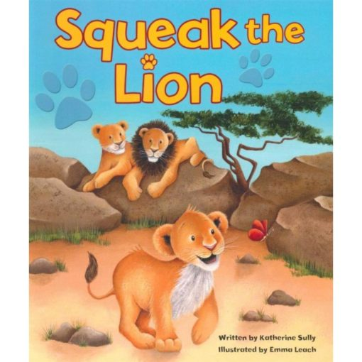 Cupcake Board Book - Squeak The Lion
