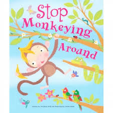Cupcake Story Book - Stop Monkeying Around Cover