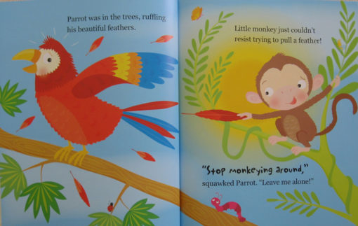 Cupcake Story Book - Stop Monkeying Around Inside1