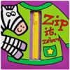 Zip It, Zebra Interactive Board Book