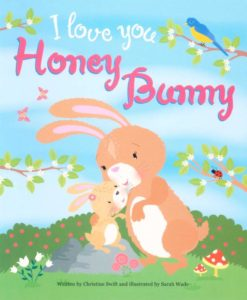 Cupcake Story Book - I Love You Honey Bunny