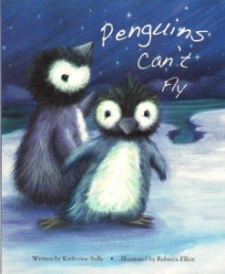 Cupcake Board Book - Penguins Can't Fly