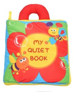 My Quiet Book Cloth Book - Cover Page
