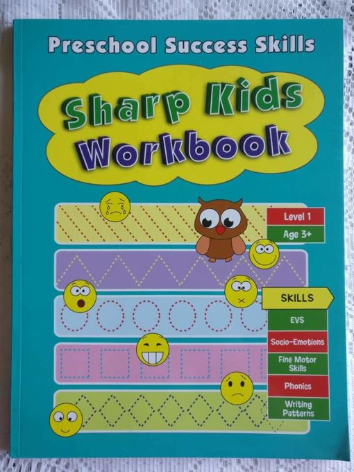 Preschool Success Skills - Sharp Kids Workbook - Level 1 - 3 years+ CoverPage