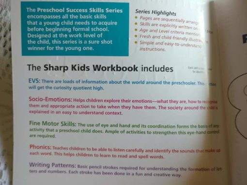 Preschool Success Skills - Sharp Kids Workbook - Level 1 - 3 years+ Highlights