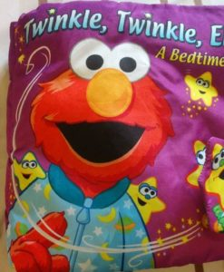 Twinkle, Twinkle Elmo – A bedtime book – Cloth Book - Cover Page2