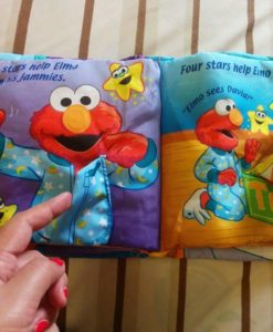 Twinkle, Twinkle Elmo – A bedtime book – Cloth Book - Inside5