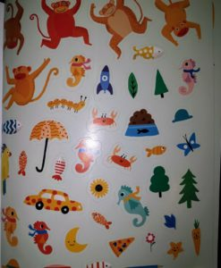 One, Two, Three - Sticker and Draw - Stickers Page