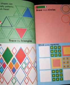 Circles, Squares, Stars - Sticker and Draw - Inside2