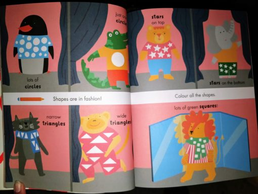 Circles, Squares, Stars - Sticker and Draw - Insidepage6