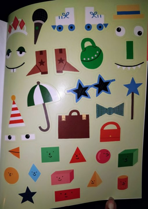 Circles, Squares, Stars - Sticker and Draw - StickersPage1