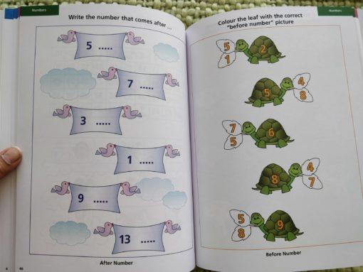 Preschool Success Skills – Brainy Kids Workbook – Level 2 – 4 years+ InsidepAGE7