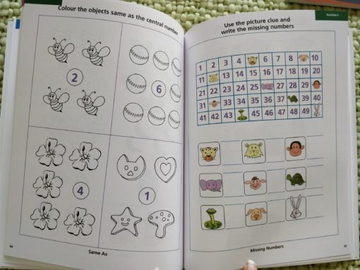 Preschool Success Skills – Brainy Kids Workbook – Level 2 – 4 years+ InsidePage1