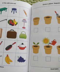 Preschool Success Skills – Brainy Kids Workbook – Level 2 – 4 years+ InsidePage4
