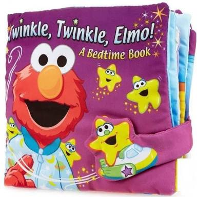 Twinkle, Twinkle Elmo – A bedtime book – Cloth Book - Cover Page