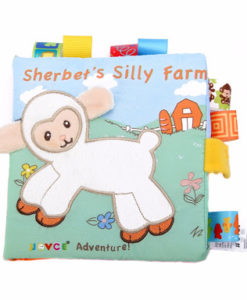 Cloth Book – Sherbet's Silly Farm Cover