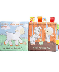 Cloth Book – Sherbet's Silly Farm Inside2