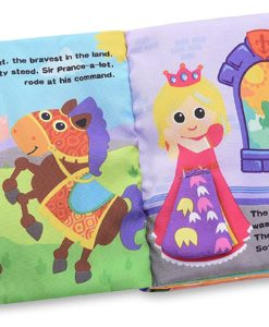 Cloth Book with Flaps – The Tale of Sir Prance-a-lot inside