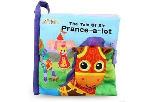 Cloth Book with Flaps - The Tale of Sir Prance-a-lot cover