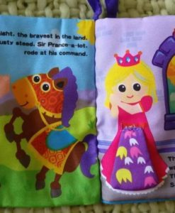 Cloth Book with Flaps – The Tale of Sir Prance-a-lot - Inside2
