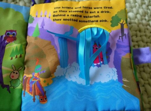 Cloth Book with Flaps – The Tale of Sir Prance-a-lot - Inside4