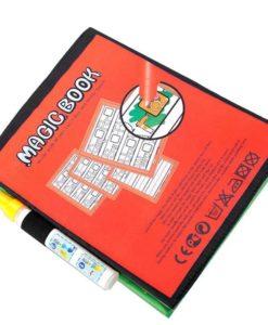 Reusable Magic Water Colouring Book Alphabet BackCover
