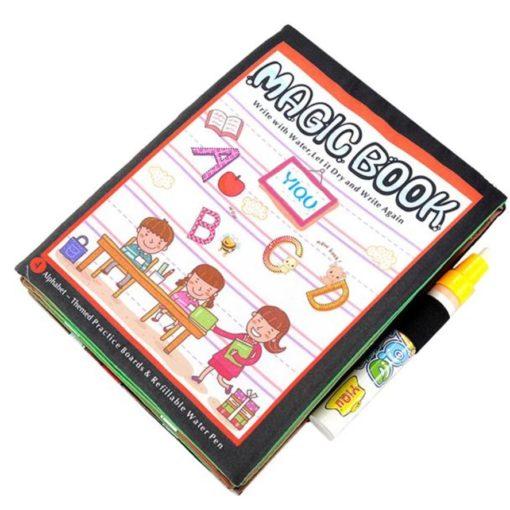 Reusable Magic Water Colouring Book Alphabet Cover1