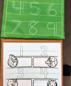 Reusable Magic Water Colouring Book Numbers Inside4