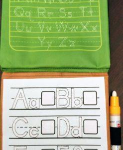 Reusable Magic Water Colouring Book Alphabet Inside4