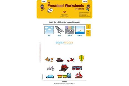 EVS Worksheet Level 1 Age3 9788184991659