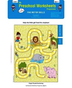 Fine Motor Skills Worksheets Level 2 Age4 9788184991635