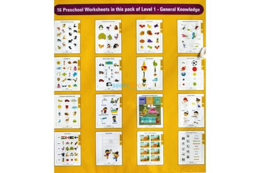 General Knowledge Worksheets Level 1 Age3 9788184991505-inside pages