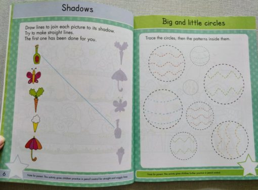 Gold Stars Big Workbook Ready for School Ages 3-5 Inside8