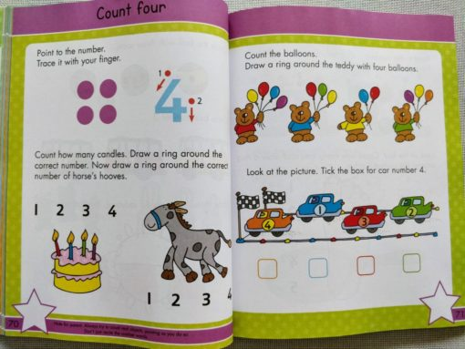 Gold Stars Big Workbook Ready for School Ages 3-5 Inside4