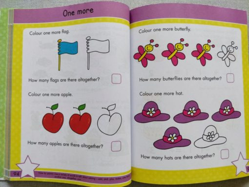 Gold Stars Big Workbook Ready for School Ages 3-5 Inside5