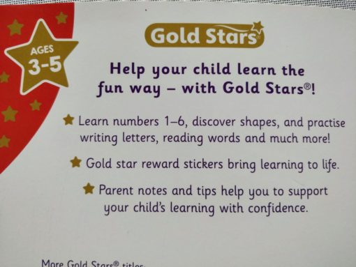 Gold Stars Big Workbook Ready for School Ages 3-5 Inside9