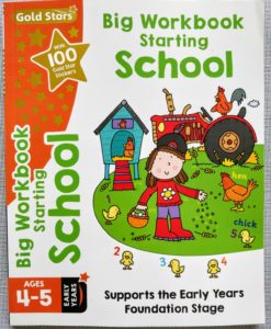 Gold Stars Big Workbook Starting School Ages 4-5 Cover2
