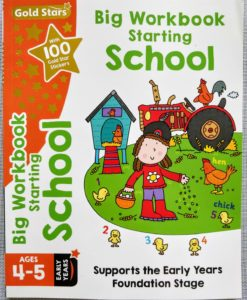 Gold Stars Big Workbook Starting School Ages 4-5 Cover