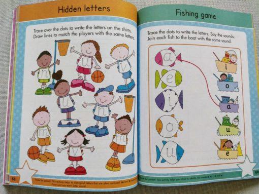 Gold Stars Big Workbook Starting School Ages 4-5 Inside3