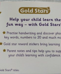 Gold Stars Big Workbook Starting School Ages 4-5 Back Cover