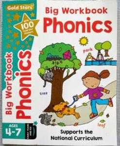 Gold Stars Big Workbook Phonics Ages 4-7 Cover