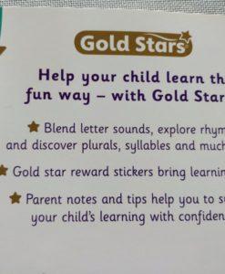 Gold Stars Big Workbook Phonics Ages 4-7 Back Cover